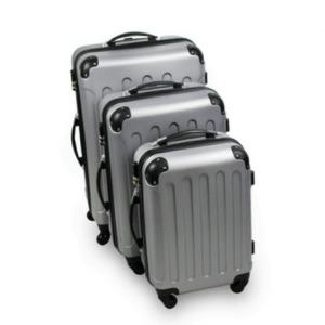 maletas de viaje grises