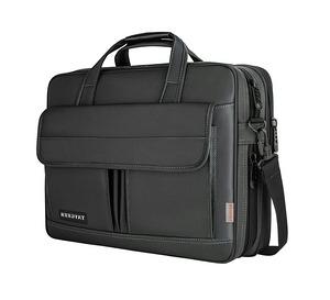 maletín portátil negro con correa