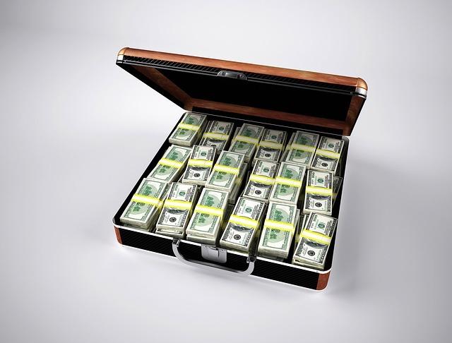 maletin con un millon de dolares