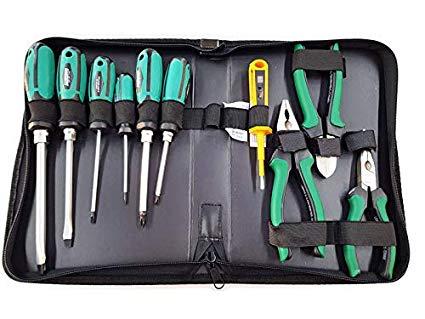 Maletín de herramientas alicates