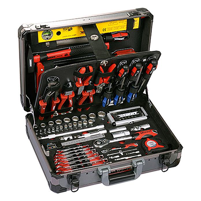 Maletín de herramientas con profesional