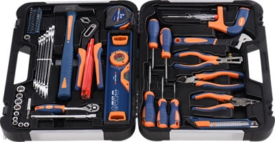 Maletín de herramientas dexter 130 piezas
