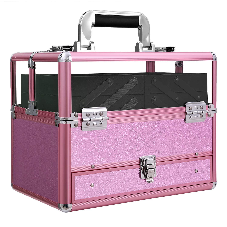 Mejor maletín de maquillaje songmics